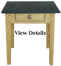 Pine Pastry Table Slate Top